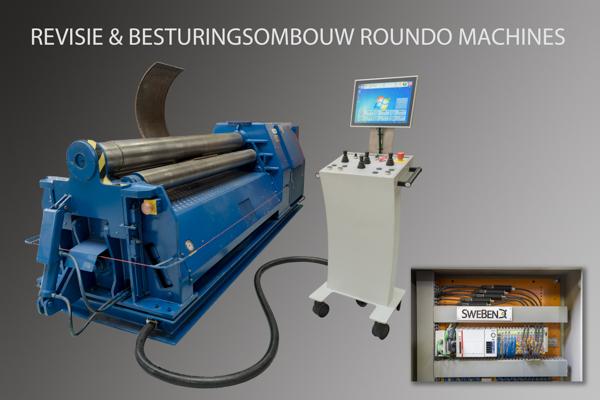 Revisie en besturingsombouw Roundo machine