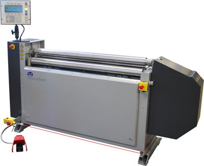 Nosstec 8344 CNC | Luna | platenwals | plaatwals | CNC besturing