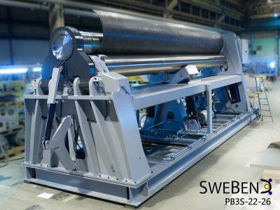 J. Venema B.V. | SweBend AB | platenwals | draadloze bluetooth besturing