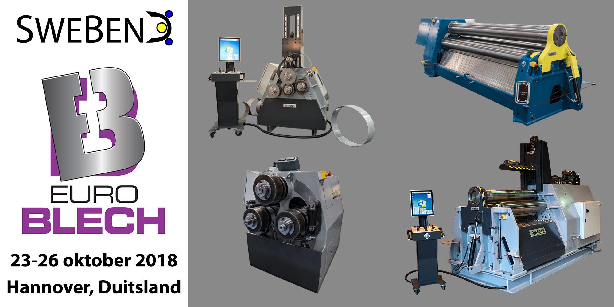 J. Venema B.V. | SweBend AB | EuroBlech 2018 | profielwals | platenwals | CNC besturing | machine revisie